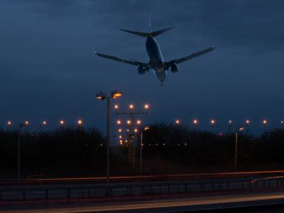 2/52 Landing at Stansted Airport