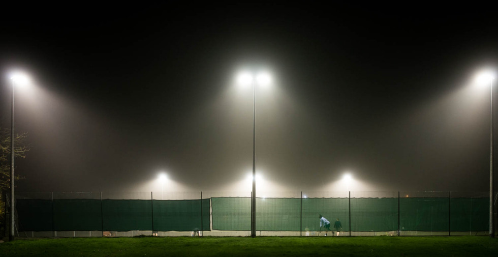 Tennis In The Fog