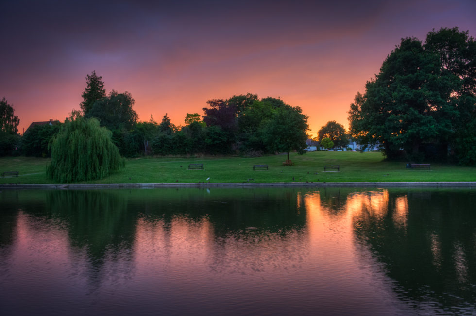 297/365v3 – Sunset on Doctors Pond