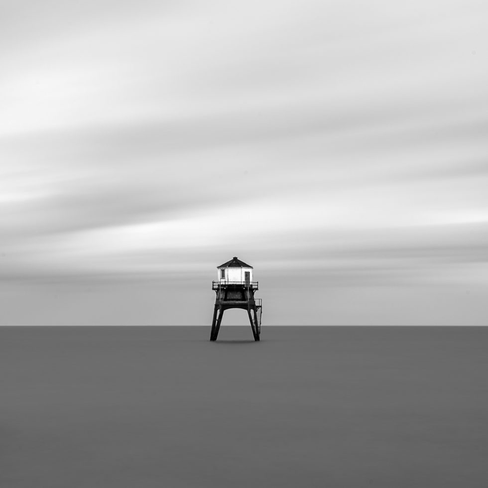 Dovercourt Lighthouse and Scaffolding